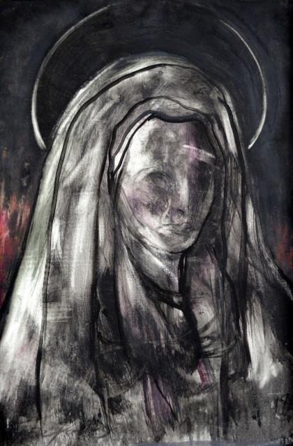 Ομαδική έκθεση ζωγραφικής Contemporary Madonnas - Εικόνα 2